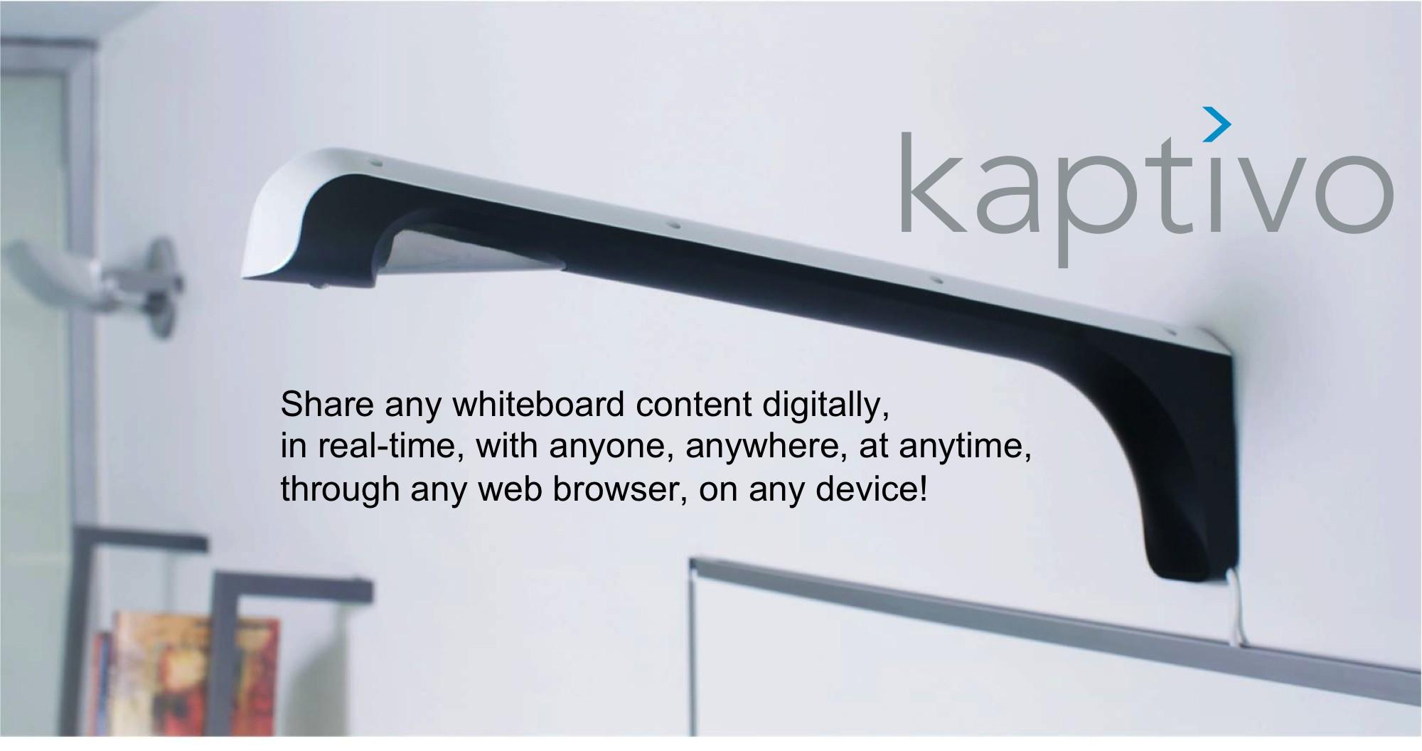Kaptivo es parte de Lifesize y complementa las pizarras blancas con las videoconferencias