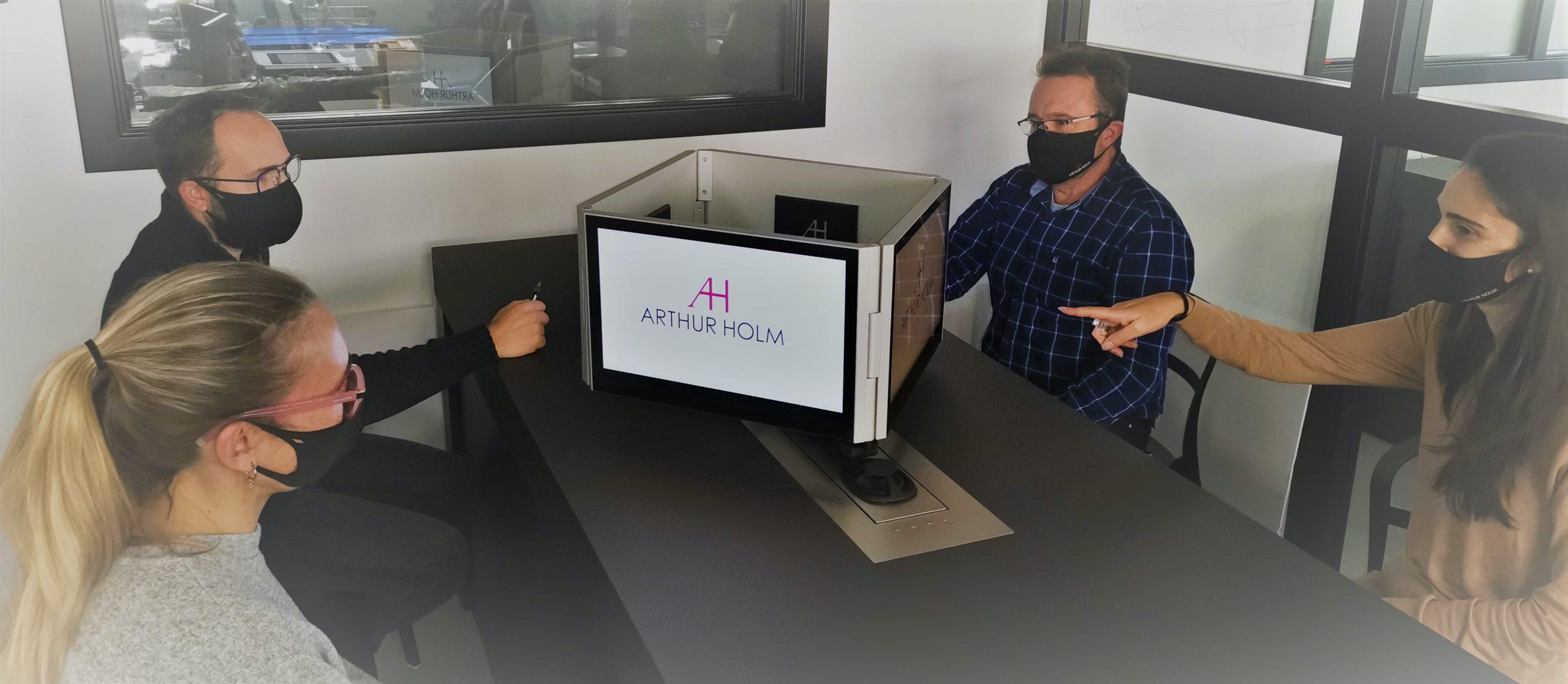 Solución todo en uno para videoconferencias de Arthur Holm