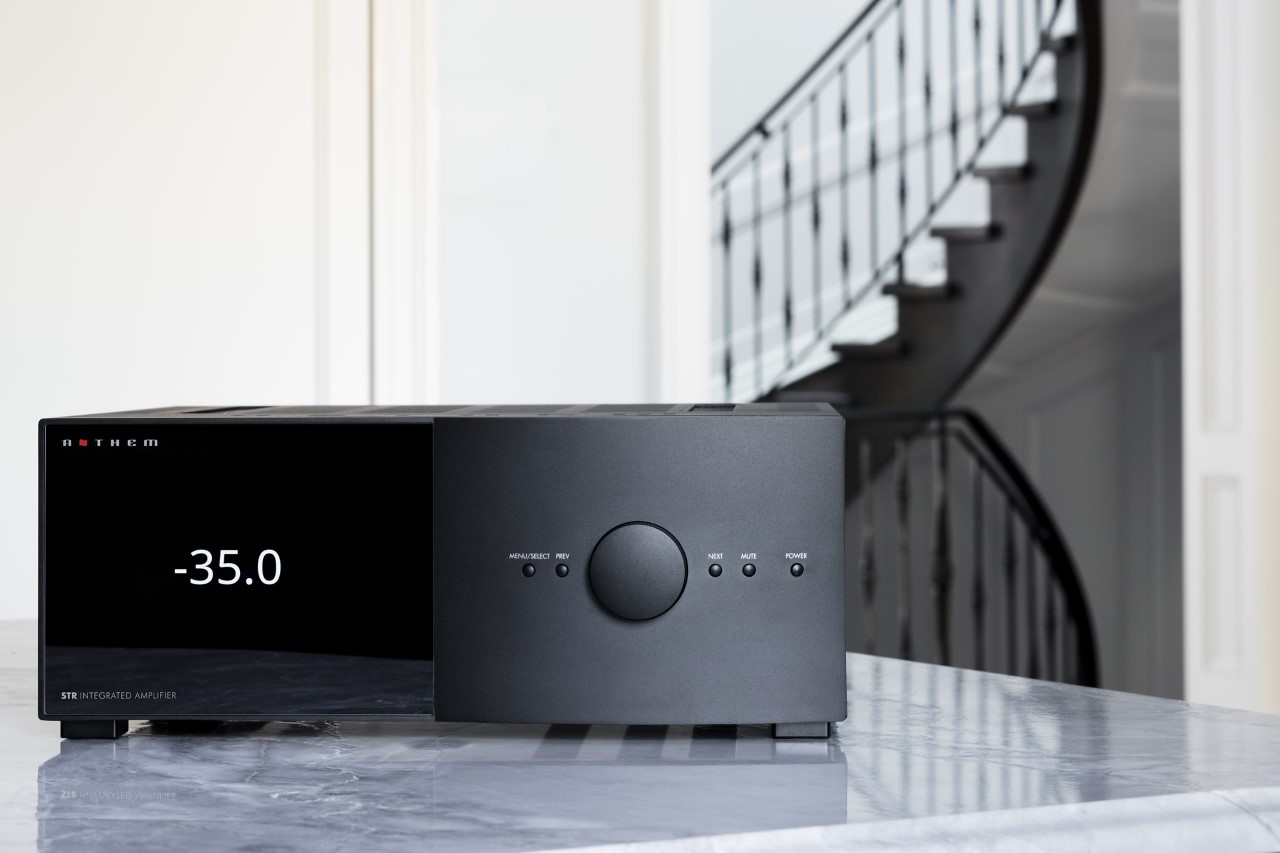 Potenciando el futuro del audio, amplificador STR de Anthem