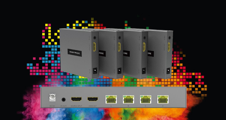 Extiende HDMI gracias a HDAnywhere y sus maravillosas cajas grises