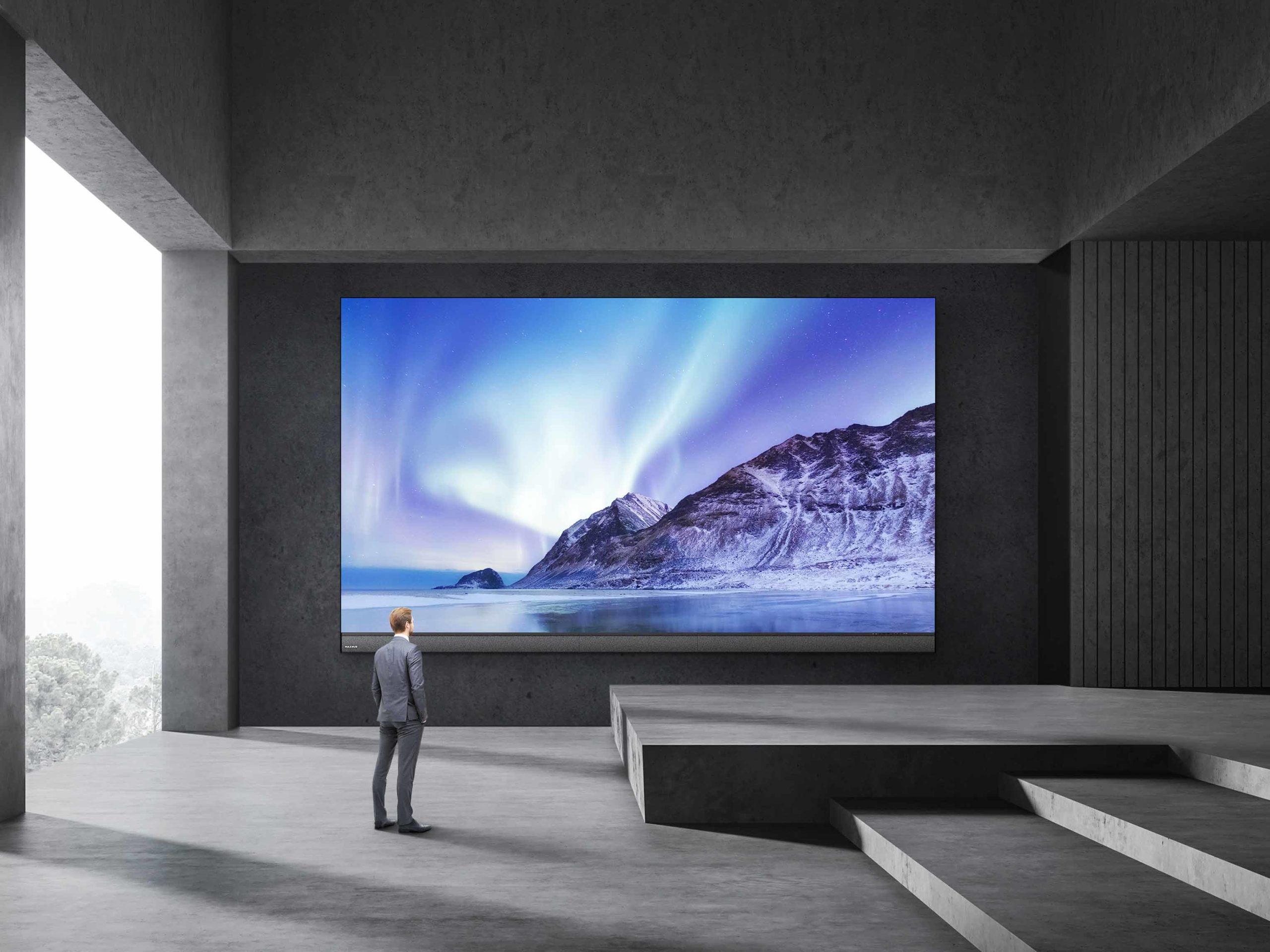Cuando necesitas una pantalla realmente gigante, llega la Raptor Series de MAXHUB