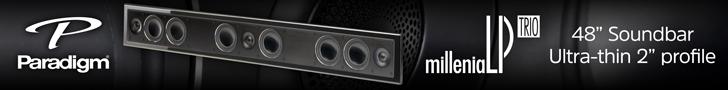 ¿Por qué la barra de sonido Millenia LP Trio resulta la solución sonora más estética para tu televisión?