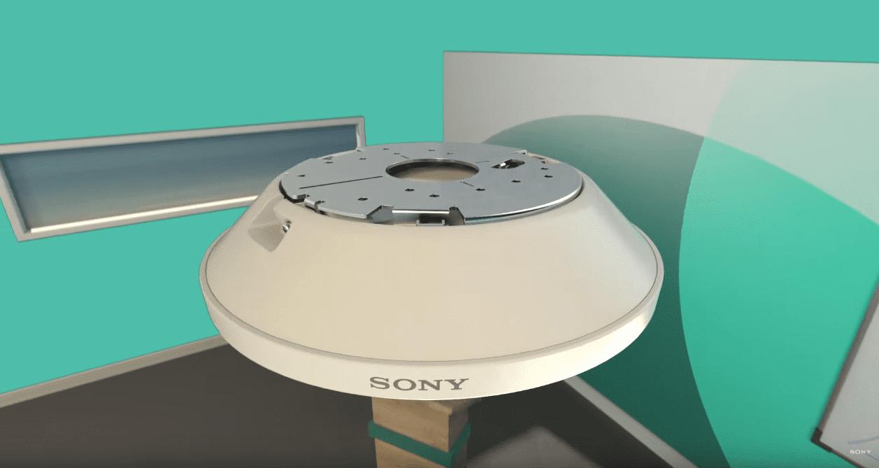 Micrófono SONY de techo tipo manos libres para salas de conferencia y aula
